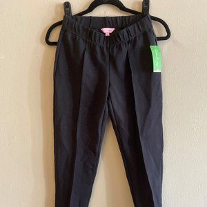 Lilly Pulitzer Black Travel Pants NWT Size M
